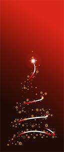 Czerwona choinka