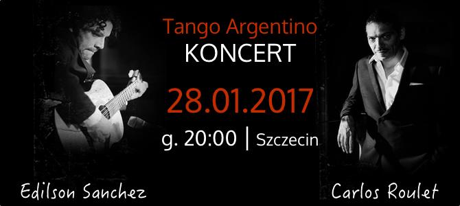 28.01.2017 – koncert Carlos Roulet i Edilson Sanchez