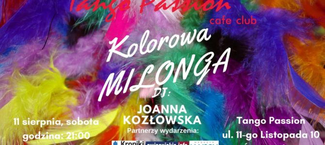 Kolorowa Milonga w Cafe Passion