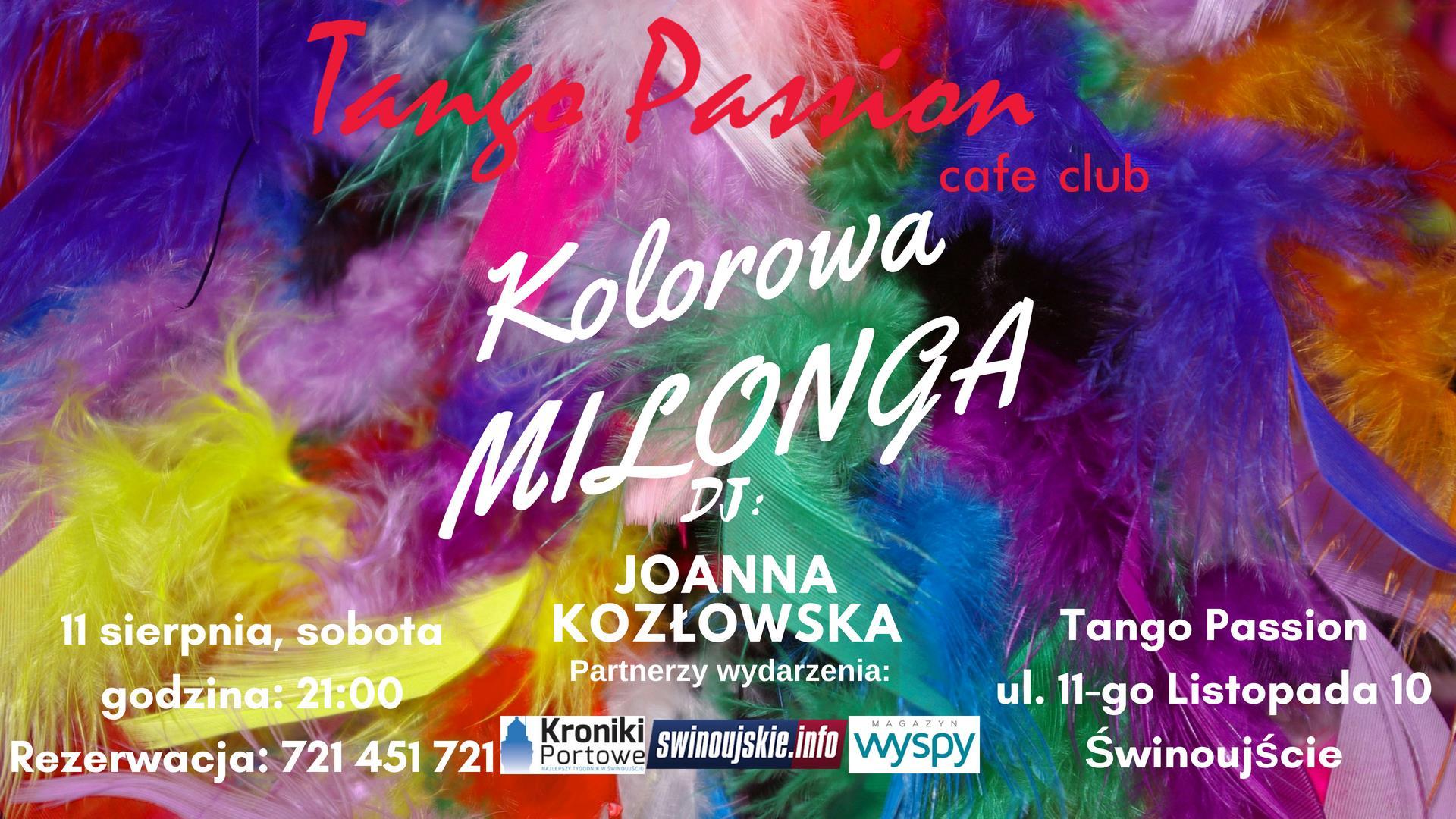 Tango Passion Milonga Kolorowa
